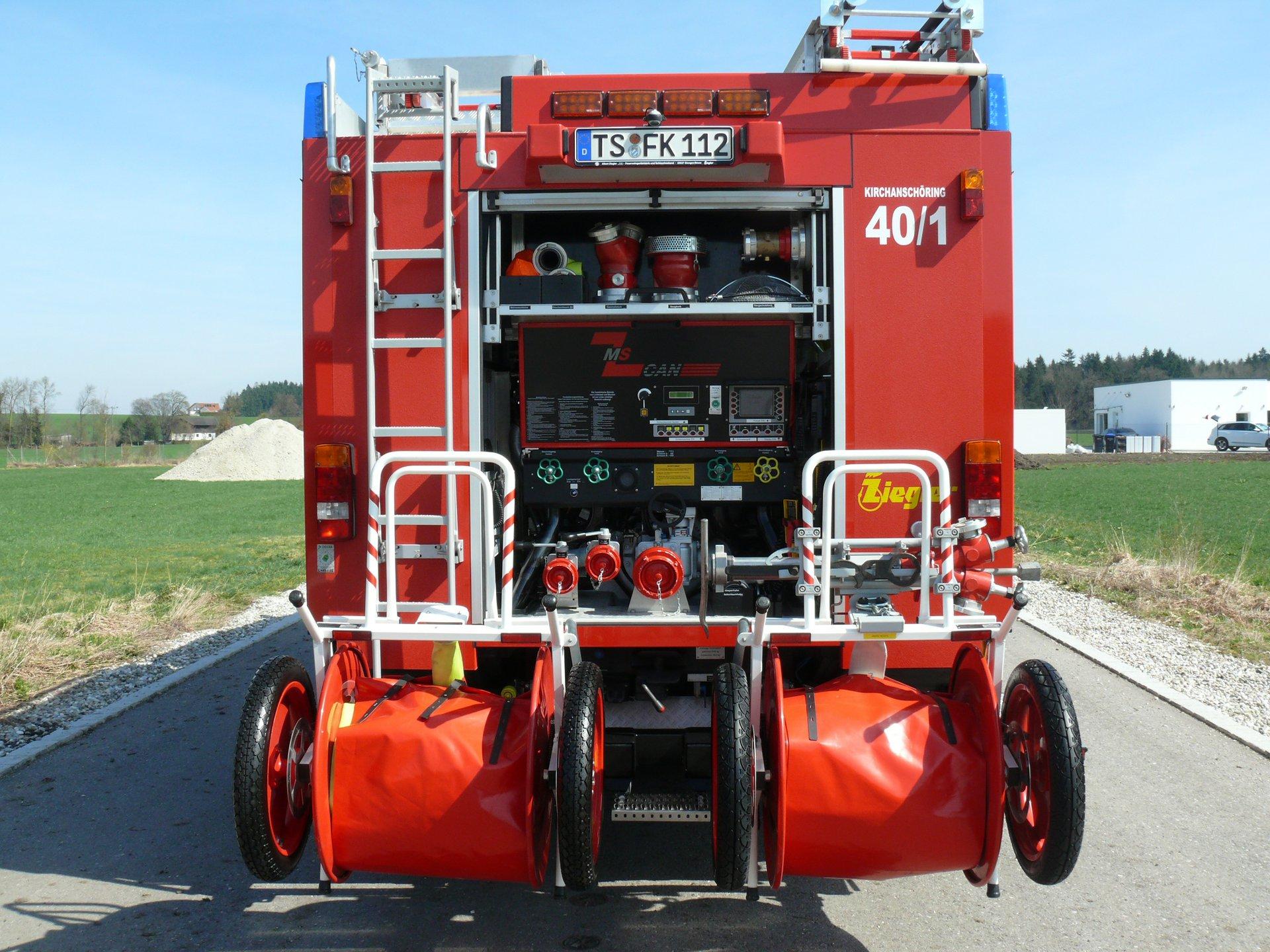 Freiwillige Feuerwehr Kirchanschoring E V Fahrzeuge